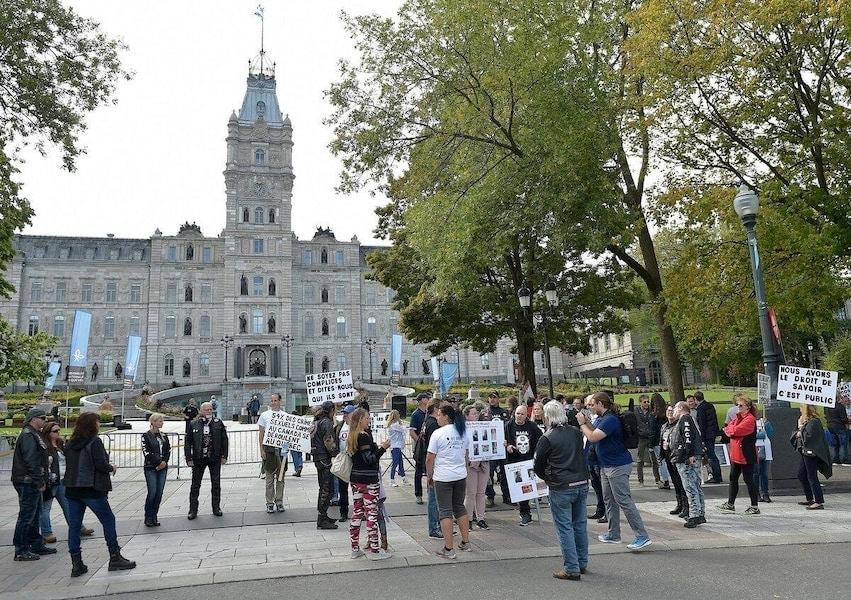les élus de la Coalition avenir Québec