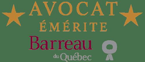 Avocat émérite barreau du Québec